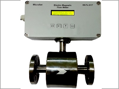 Electro-Magnetic Flow Meter- SS Body - Ms FL 0117 Microsetcontrols
