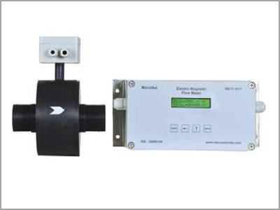 Electro-Magnetic Flow Meters Ms FL 0117 - HDPE Body Microsetcontrols
